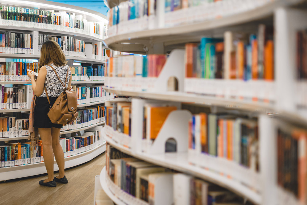 Library@Orchard Orchard Road Singapore Photography Travel 2017