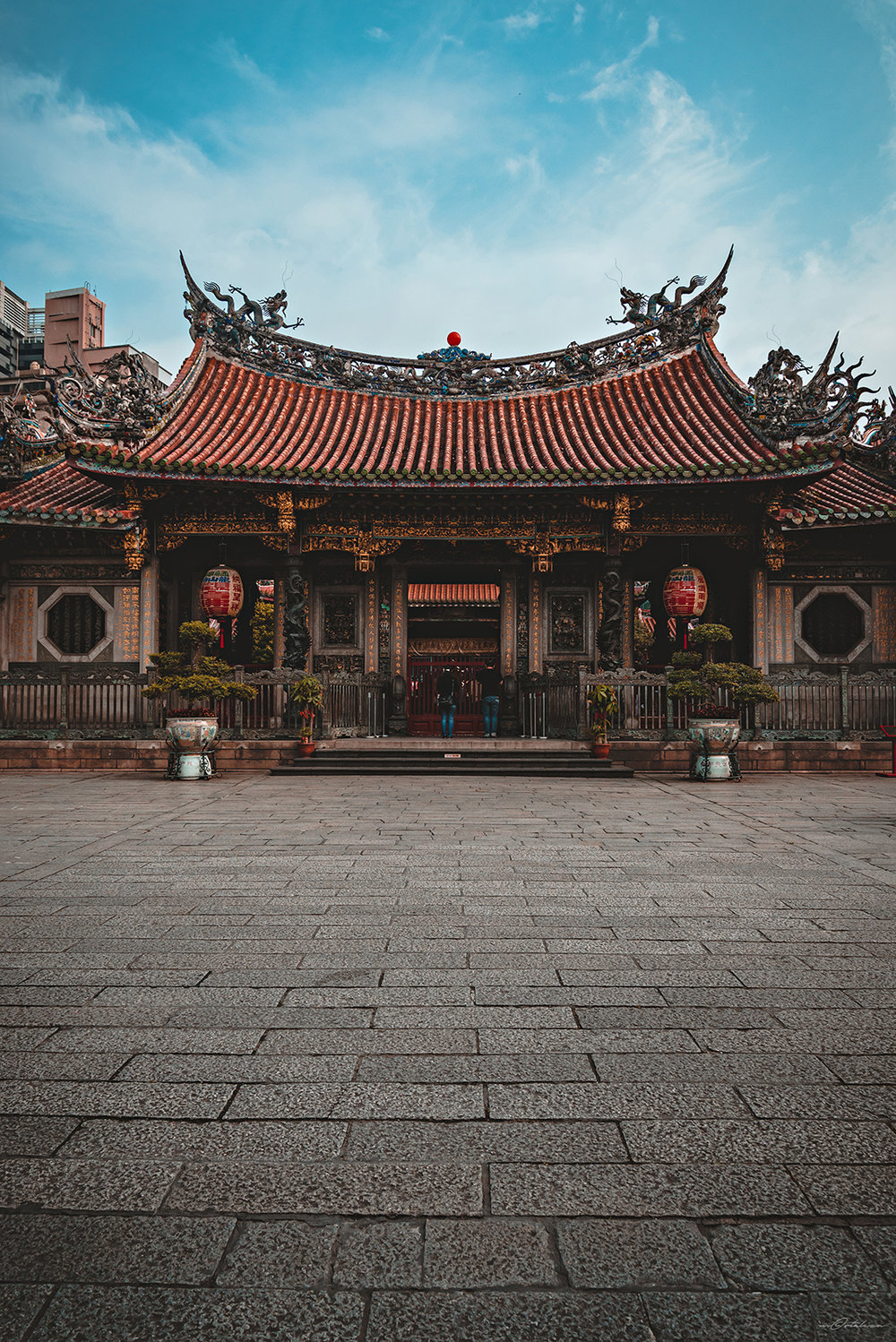 Longshan Temple Taipei Taiwan Travel Photography 2017