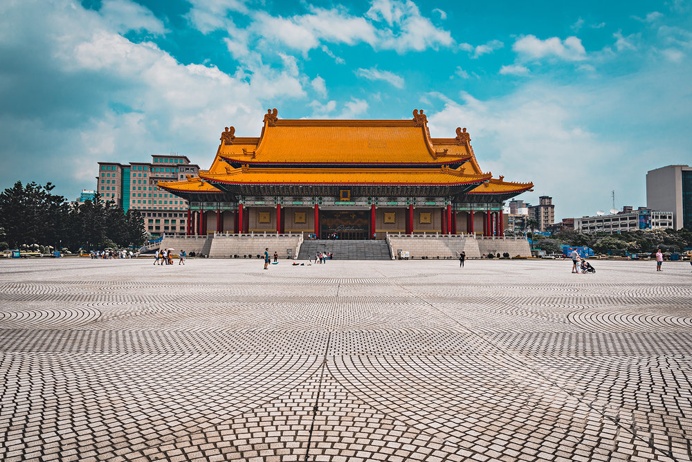National Concert Hall Chiang Kai-shek Memorial Hall Taipei Taiwan Travel 2017