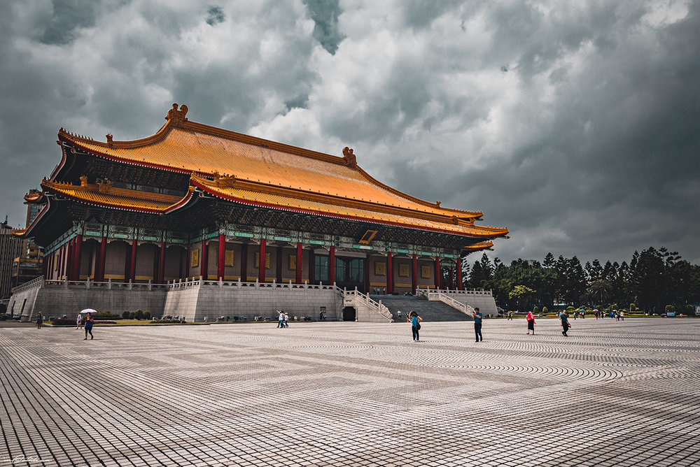 National Theater Chiang Kai-shek Memorial Hall Taipei Taiwan Travel 2017