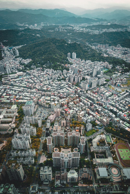 Taipei 101 Observation Deck Taipei Taiwan Photography