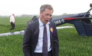 Nigel suffers minor injuries after being hit by a tree branch in Sheffield.