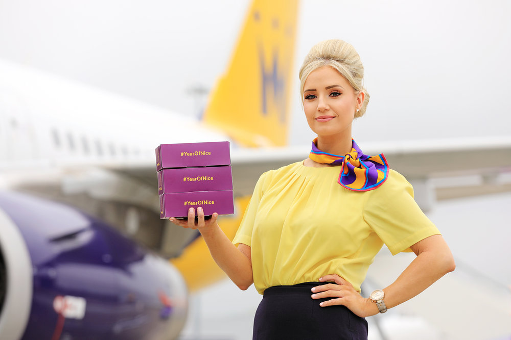 Monarch introduces new in-flight 'Mood Food' boxes; featuring snacks scientifically designed to improve the experience of travelling as part of Monarch's Year of Nice campaign.jpg
