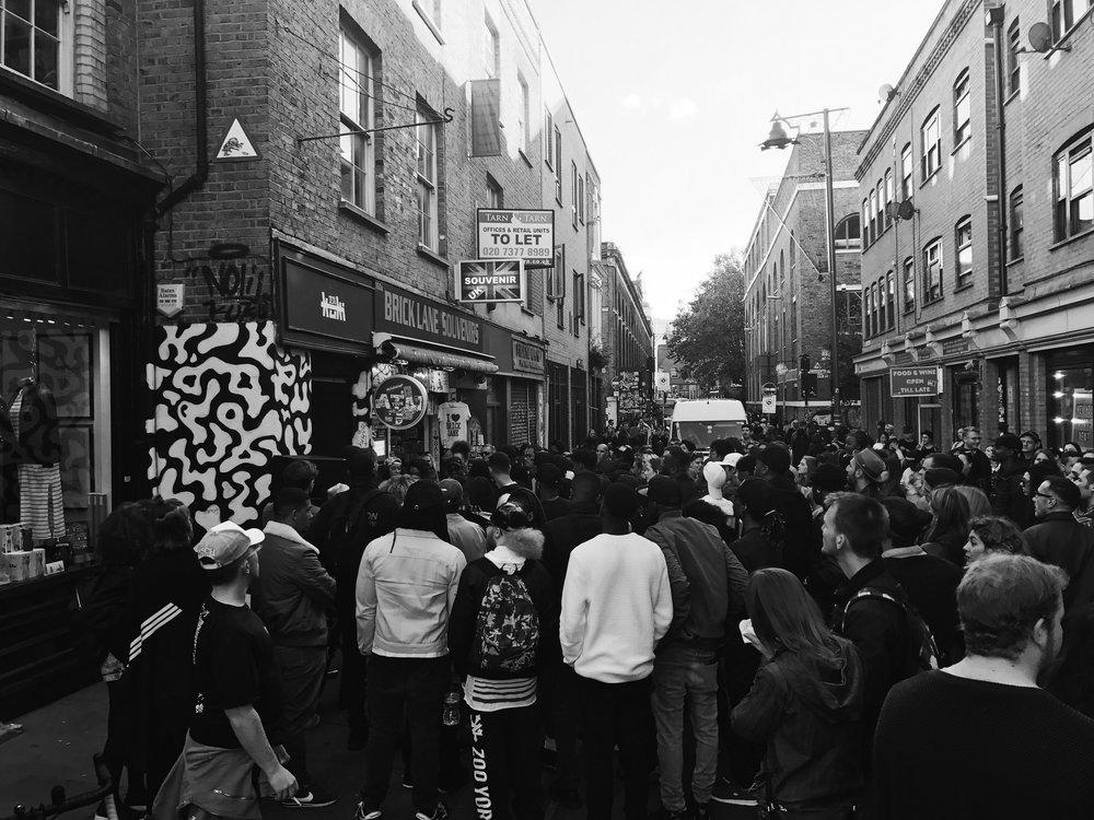 The 1st Kuki London Pop-up shop on 62 Brick Lane.