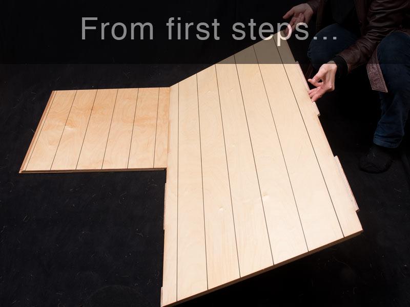 Buy a practice floor