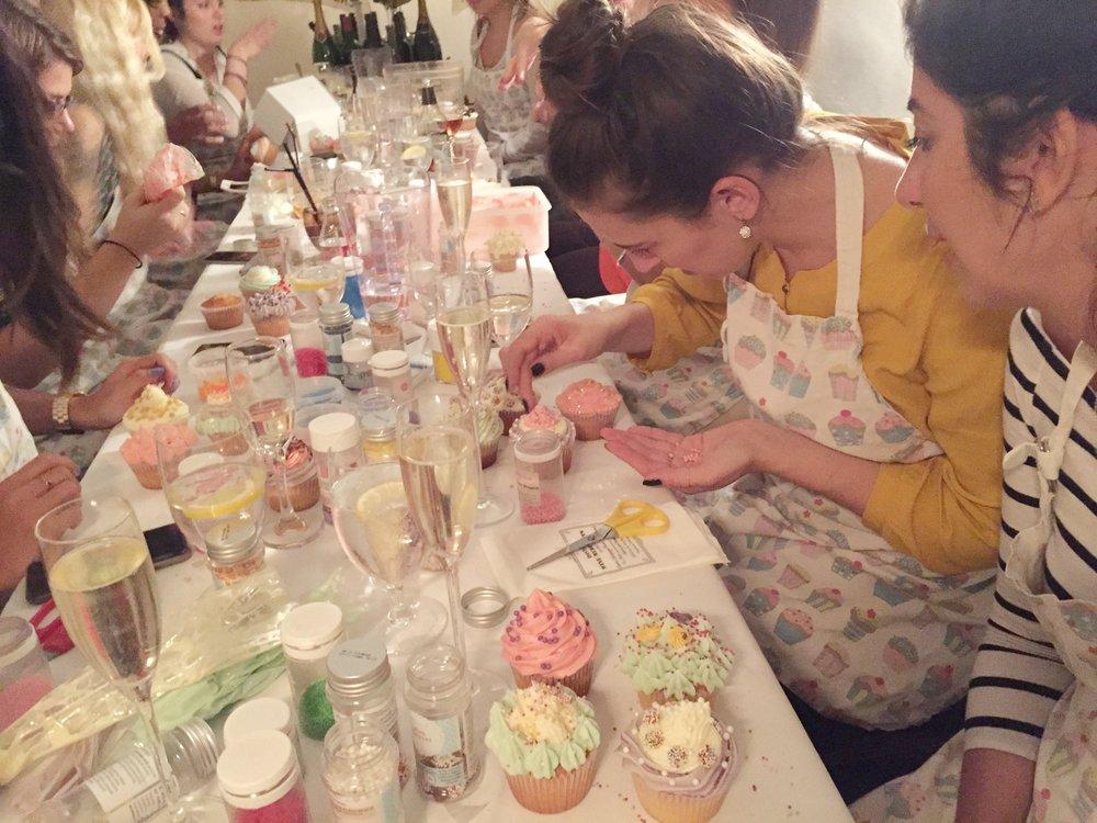 Girl sprinkling group Unilever.JPG