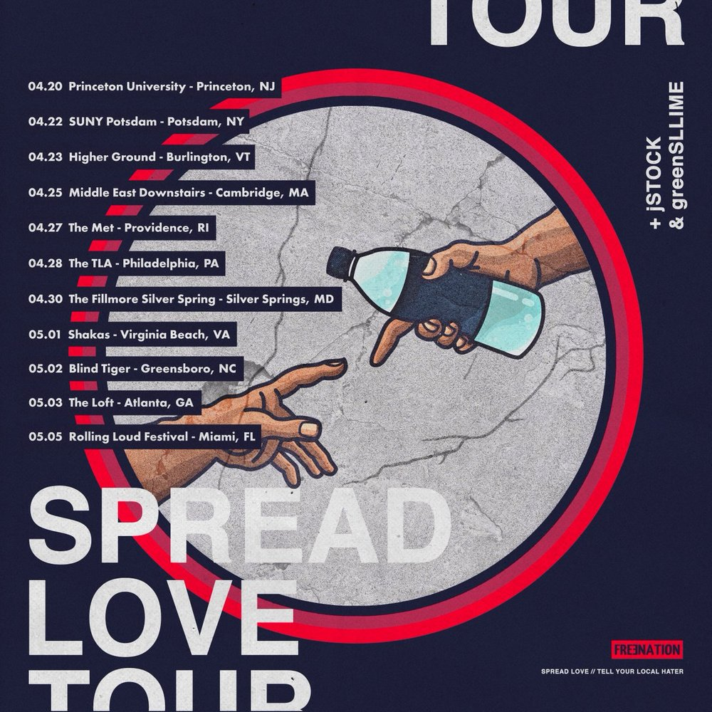 Spread Love Tour, Pt. 1