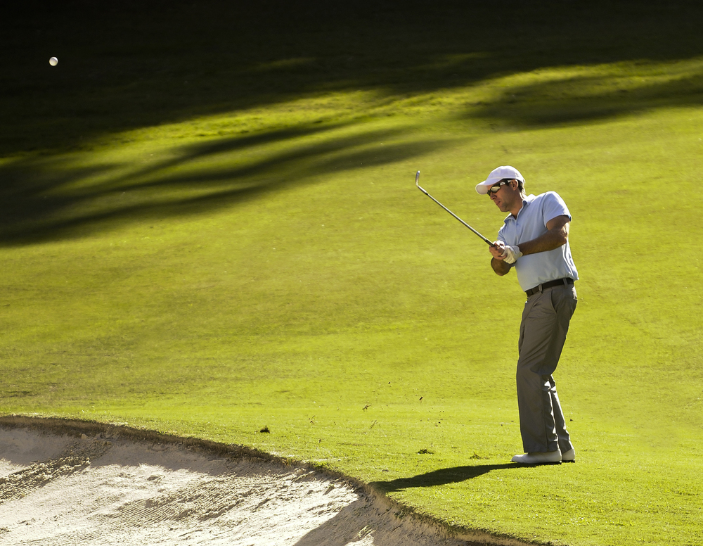 Pitching over the bunker should be effortless. Limitless golf will help you make it that way.