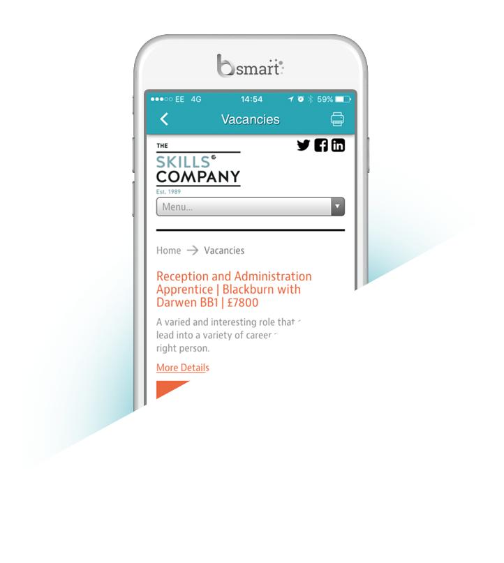 Bsmart The Skills Company app