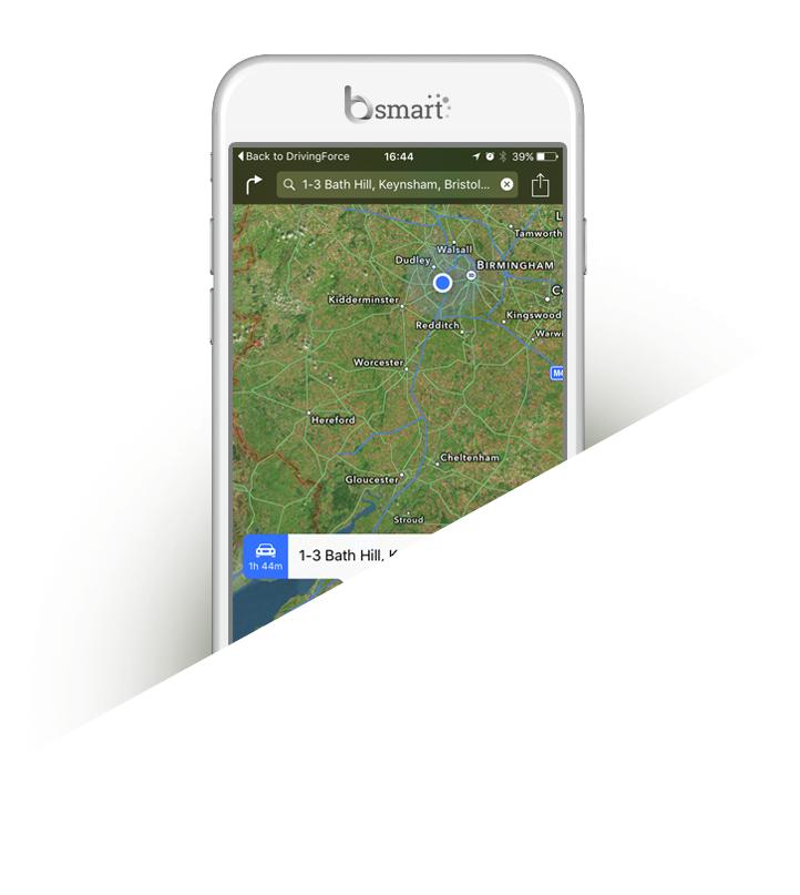 Bsmart Driving Force app