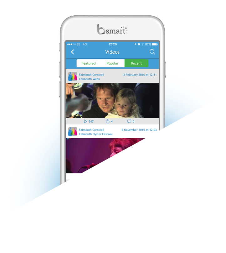 Bsmart Falmouth official guide app