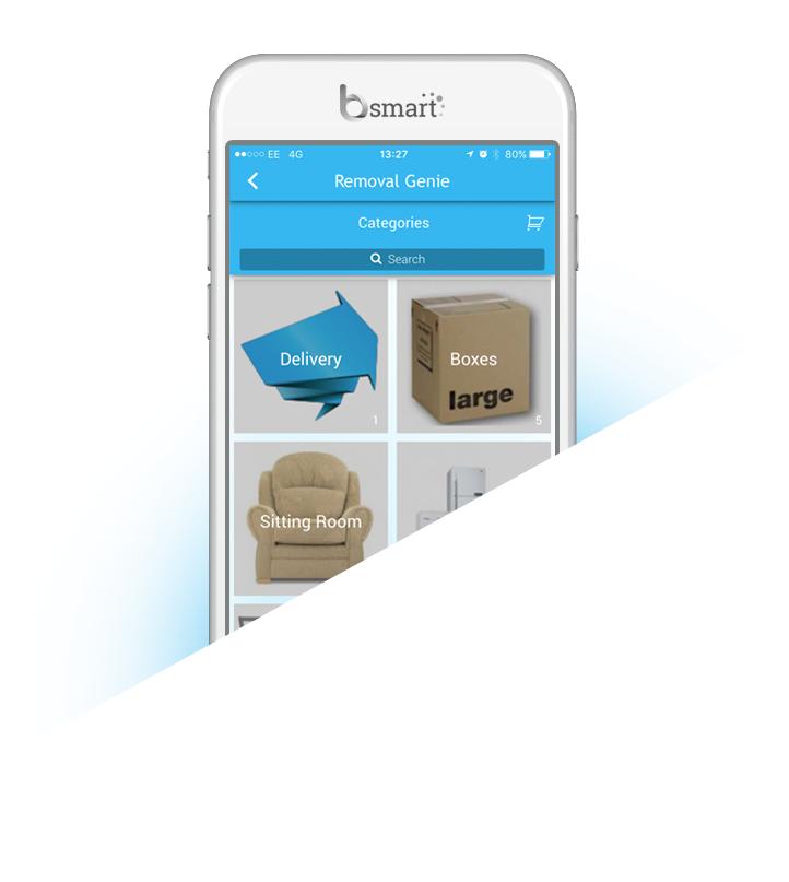 Bsmart removal genie app