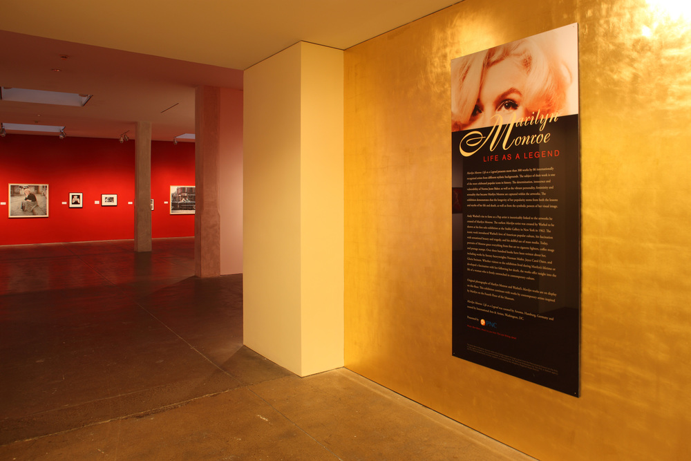 Marilyn Monroe - Life as a Legend at The Andy Warhol Museum, Pittsburgh, 2010 0002.JPG