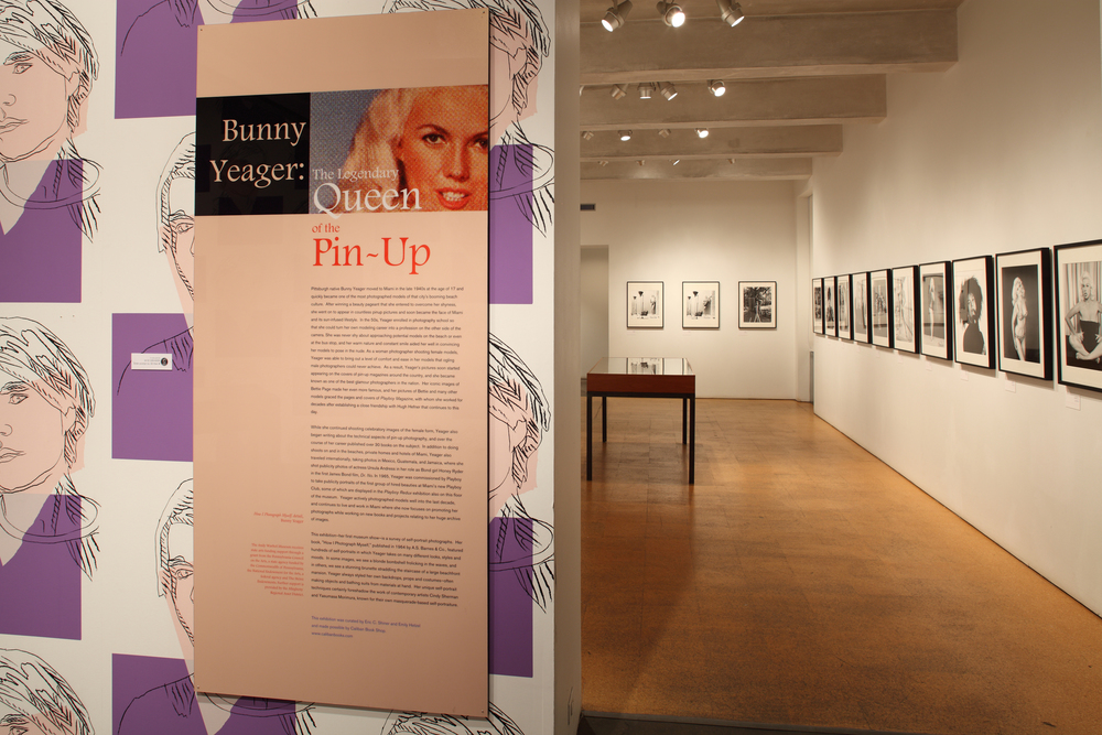 Bunny Yeager - The Legendary Queen of the Pin-Up at The Andy Warhol Museum, 2010 0001.jpg