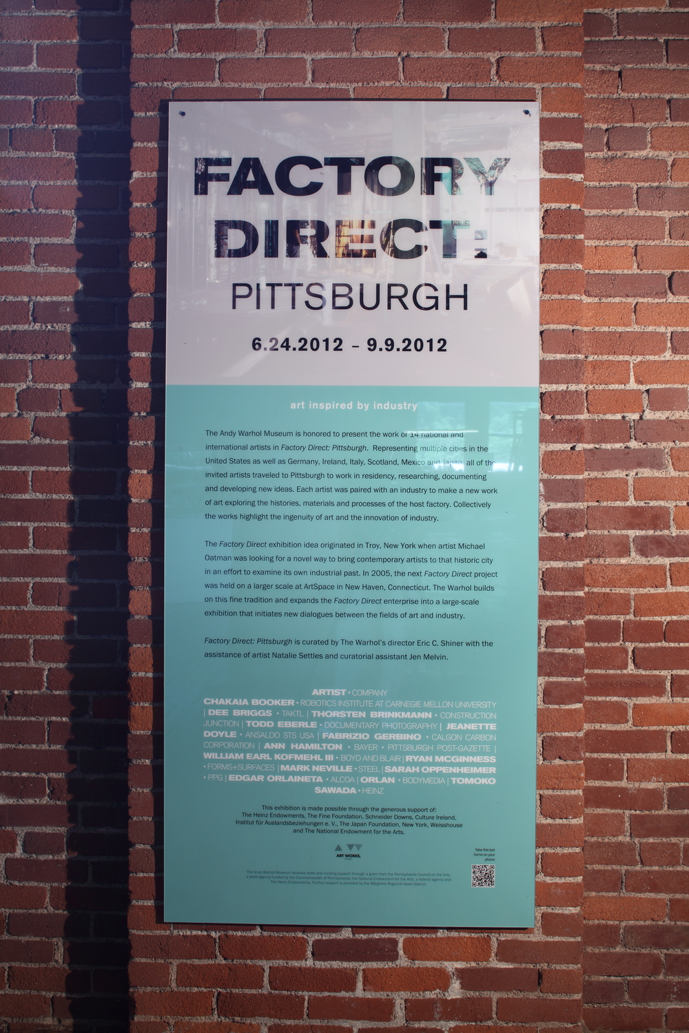 Factory Direct - Pittsburgh, The Andy Warhol Museum, 2012 0003.JPG