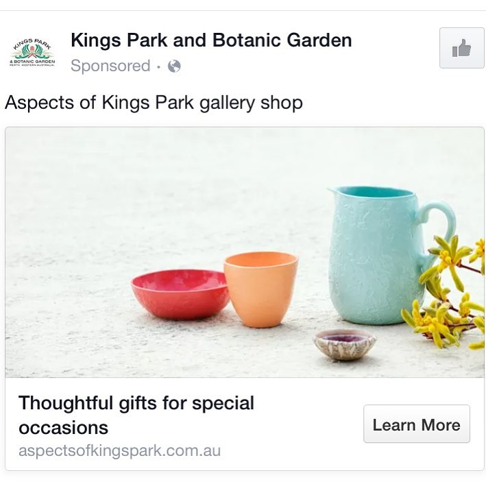 2016 | Aspects of Kings Park | Web Advert
