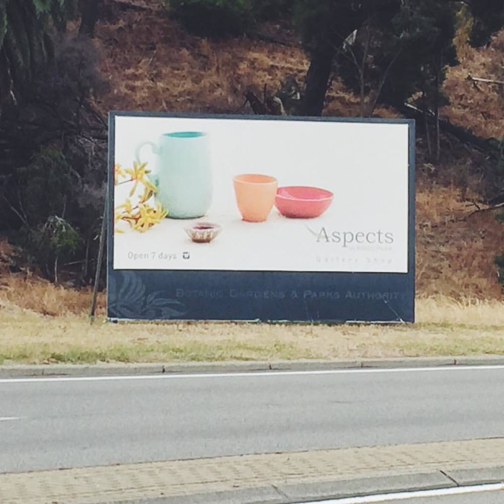 2015 | Aspects of Kings Park | Billboard on Mounts Bay Road,  Perth