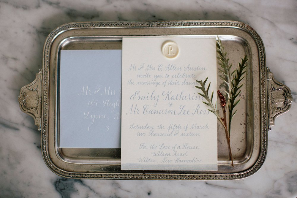 New Hampshire Styled Shoot