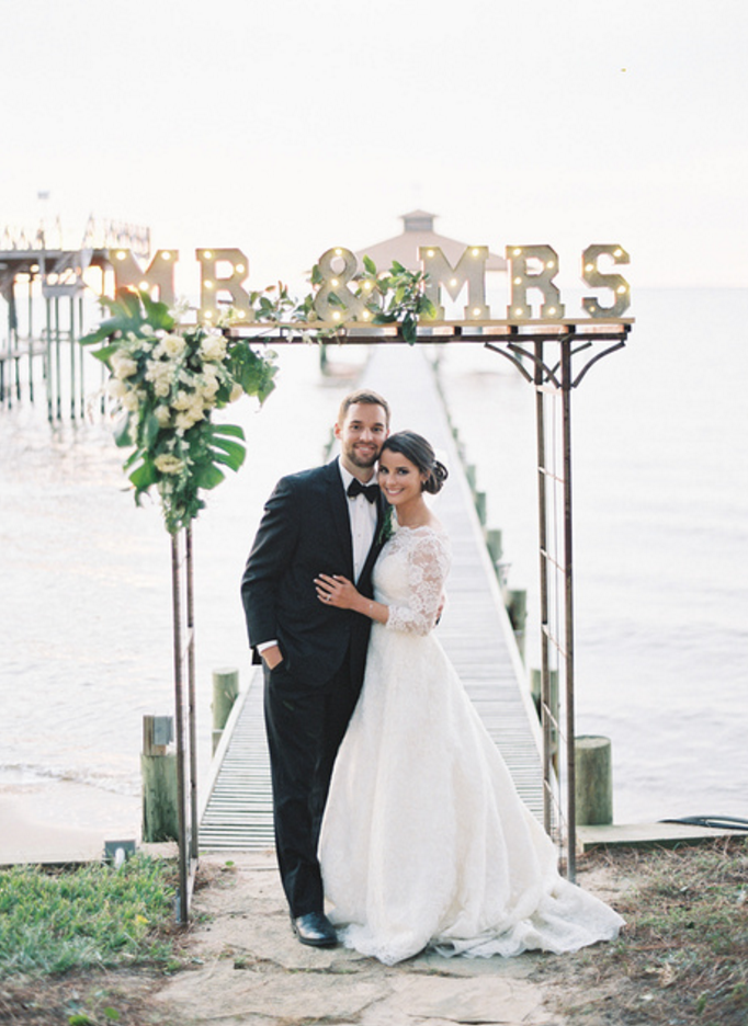 Emmie and Beau's Bayside Wedding