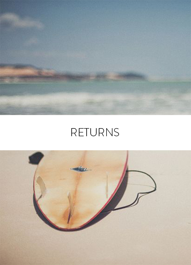 Returns policy Maria Malo