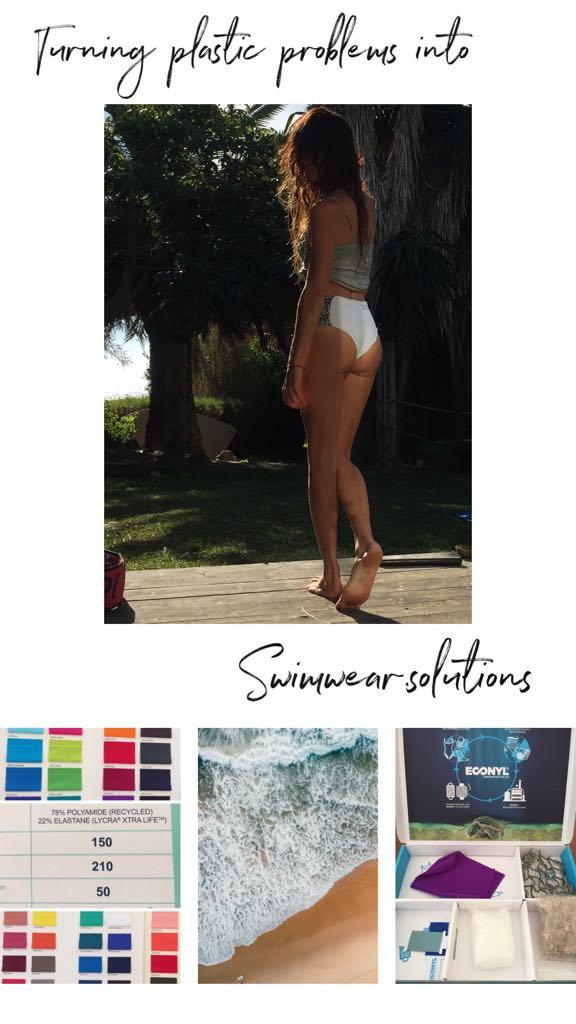 Econyl bikinis ecologicos