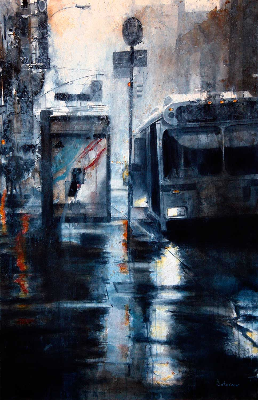 M23 Crosstown, rain