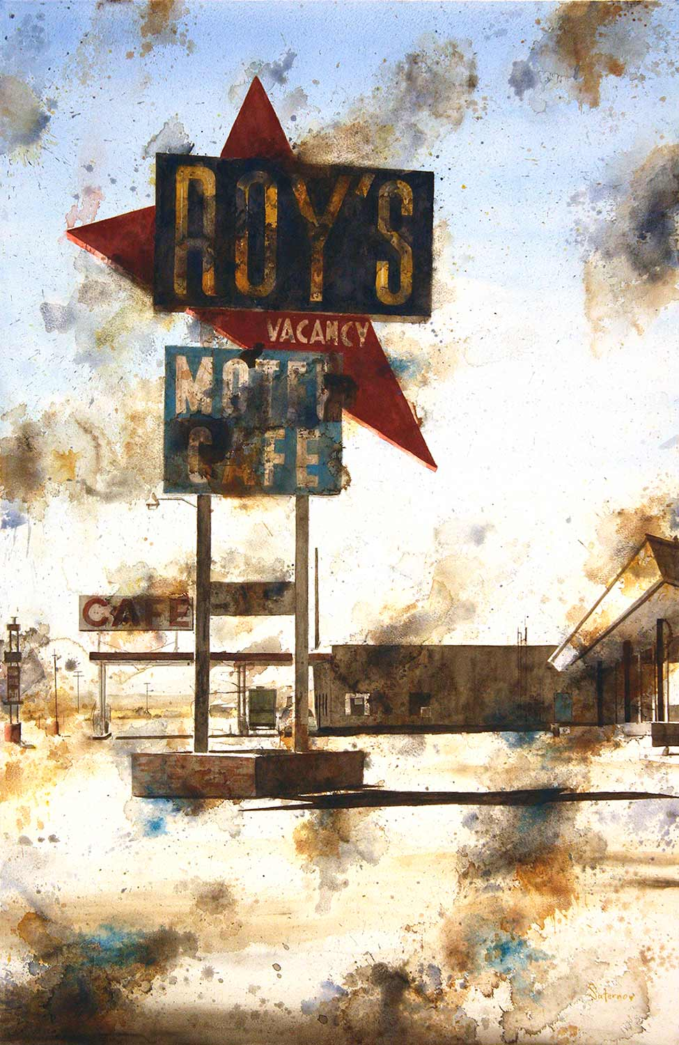 Roy's Motel, Route 66