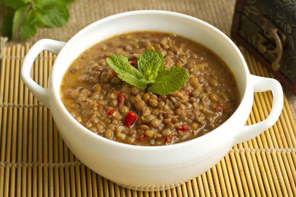 Natural Hair Loss Solutions - Lentil Soup