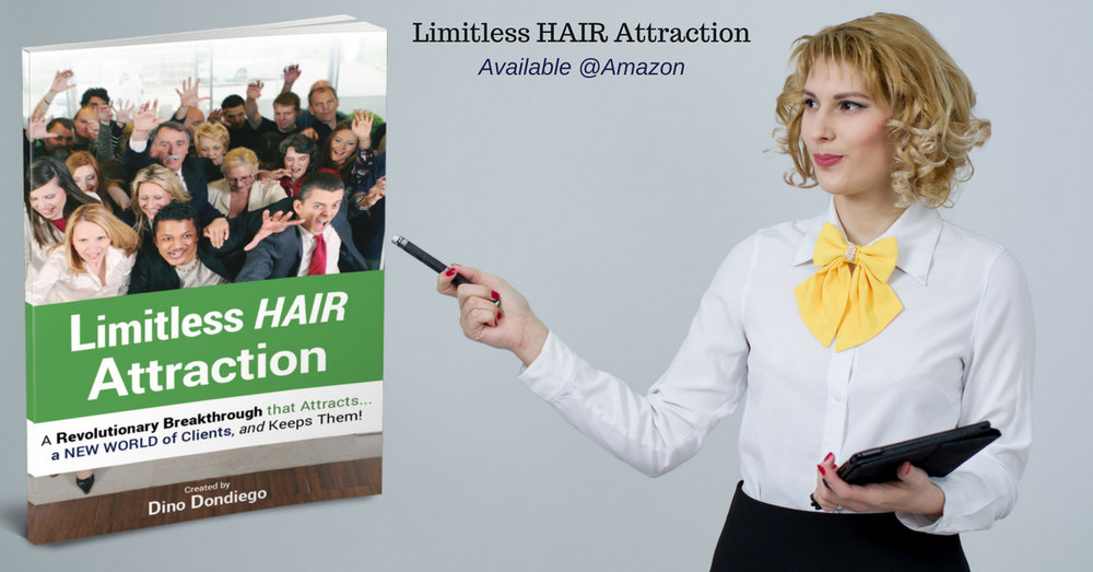 Limitless Hair Attraction   - THIS BOOK IS FOR EVERY HAIR SALON OWNERS
