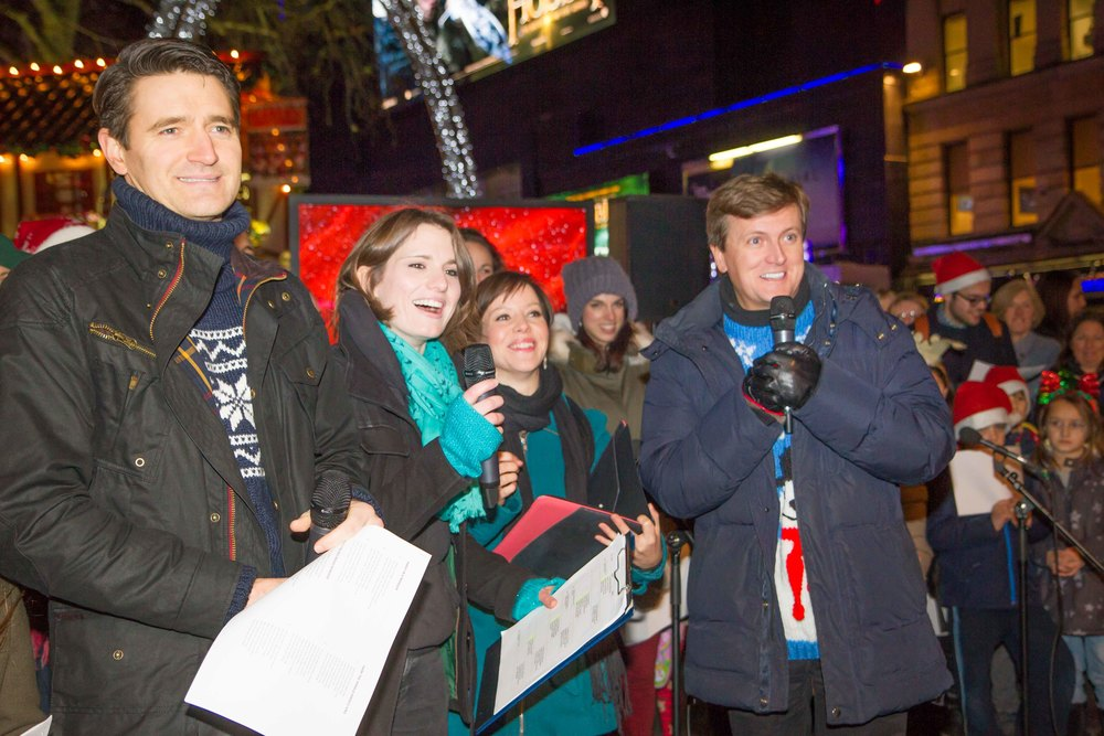 Starling Arts have run events in Leicester Square with stars such as Aled Jones and Tom Chambers