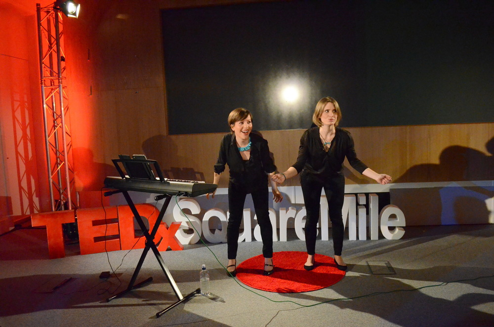 Starling Arts were invited to speak at TedX Square Mile in London on the topic 'Why the World Needs to Sing'.