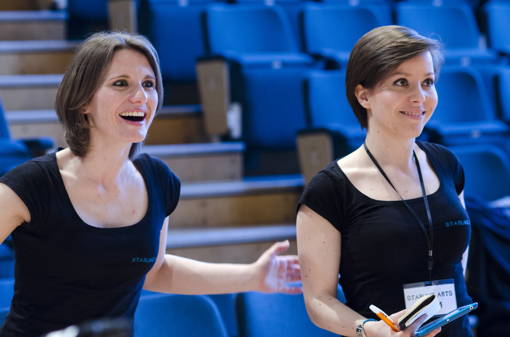 STARLING SISTERS: ANNA & EMILY can't do it alone. PHOTO: REBECCA PITT