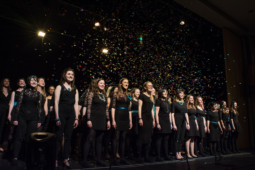 BLACK & TEAL - 2017 CHOIR CONCERT