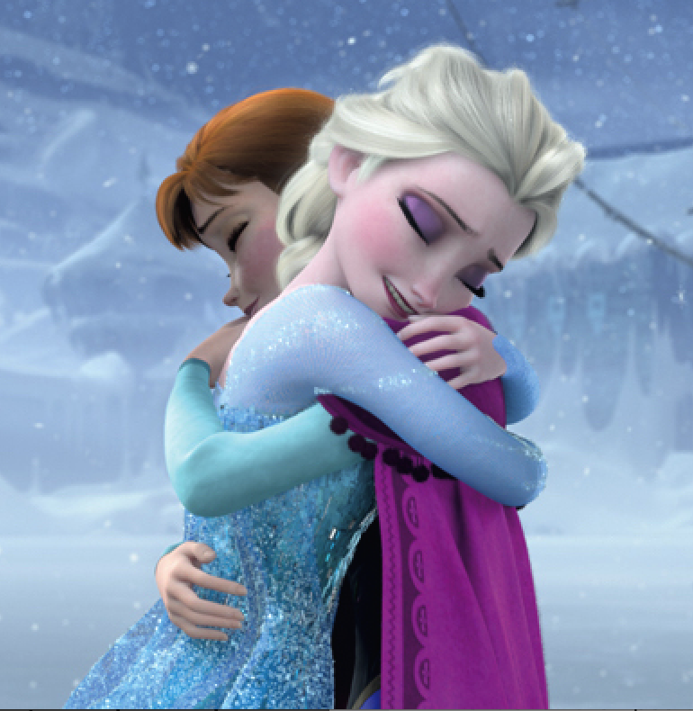 Anna & ELSA, the ultimate love story. Source: frozen.disney.com