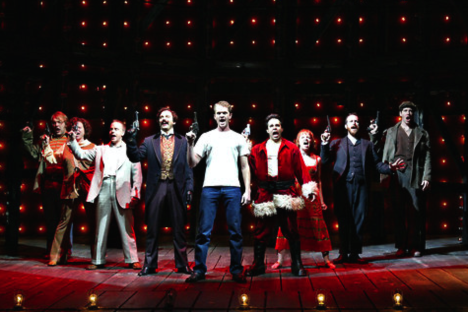 The disturbed and murderous cast of Sondheim's 'Assassins'. Source: New York Times