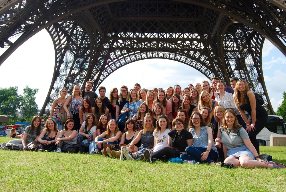 The tour will be our second, following a group trip to Paris in May 2016 where we performed across the city and at Disneyland.