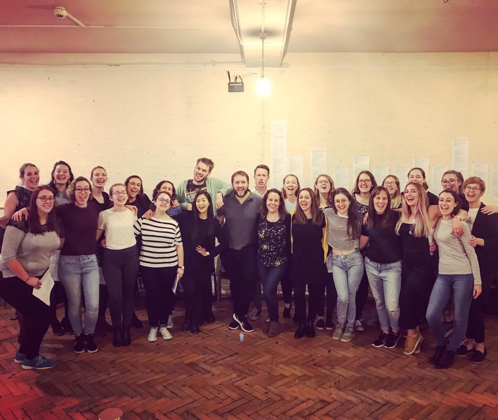 Our Tour Choir, coming to Ghent December 7 - 9th