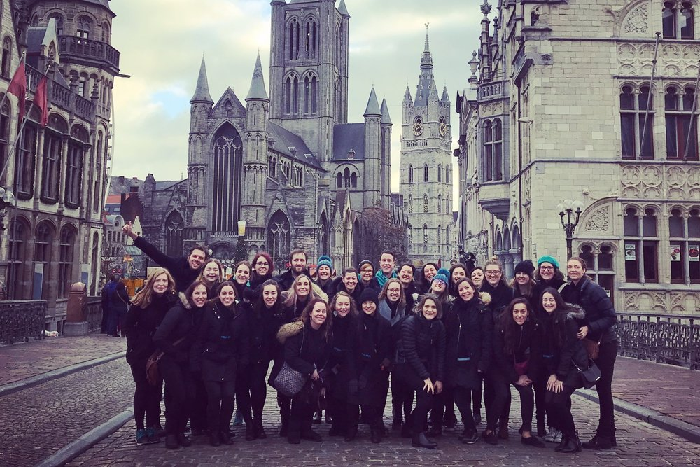 GHENT - 2018 CHOIR TOUR