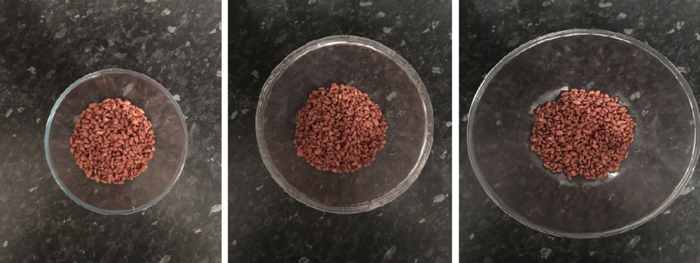 These three bowls of Coco Pops all contain exactly the same amount of cereal in them. Wow. You can read more about it HERE
