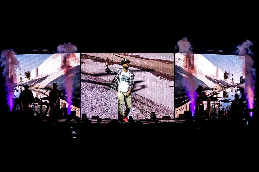 KENDRICK LAMAR - YEEZUS TOUR 2013
