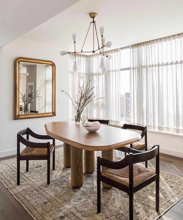 We love sheers ! They are the perfect finishing touch & are great for enhancing light in a room. Shop our Essential Sheers Collection through the link in profile. #bolttextiles {if anyone can identify the designer of this gorgeous space we'd love to give them credit !}