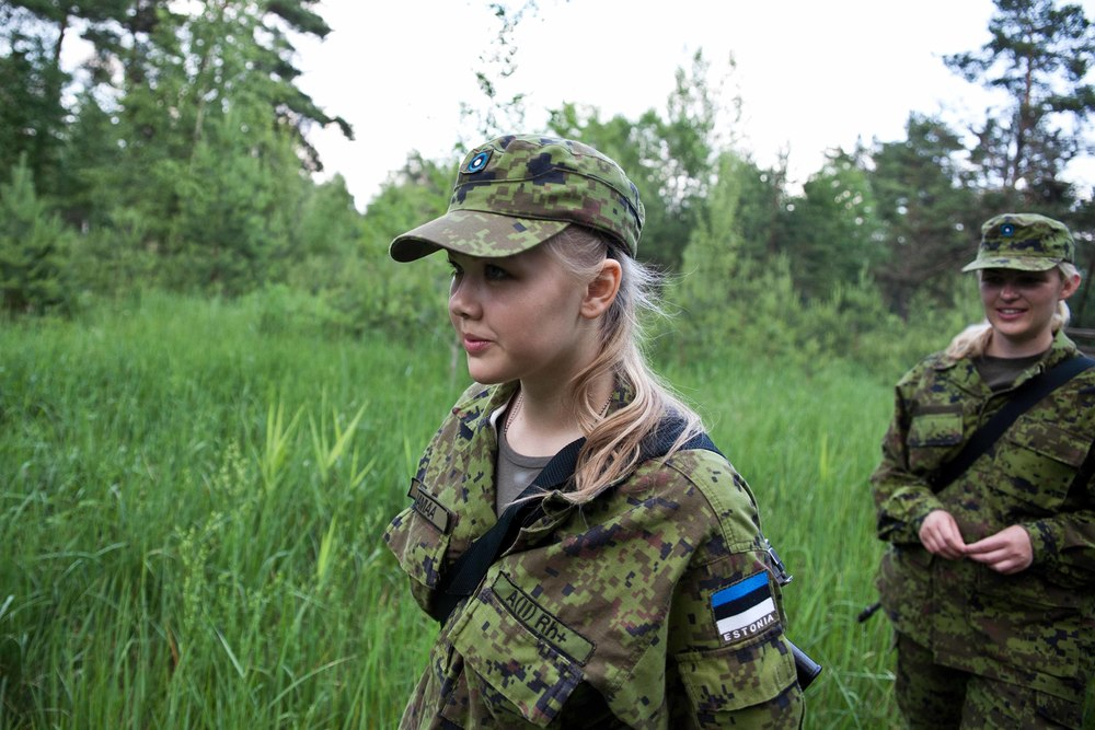 Estonia - Paramilitary Women 07.jpg