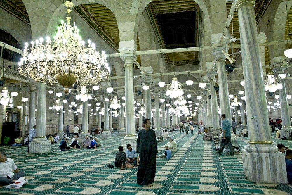 zIl Cairo - Festival Canto del Corano (06) Moschea Sayyidna al-Hussein.jpg