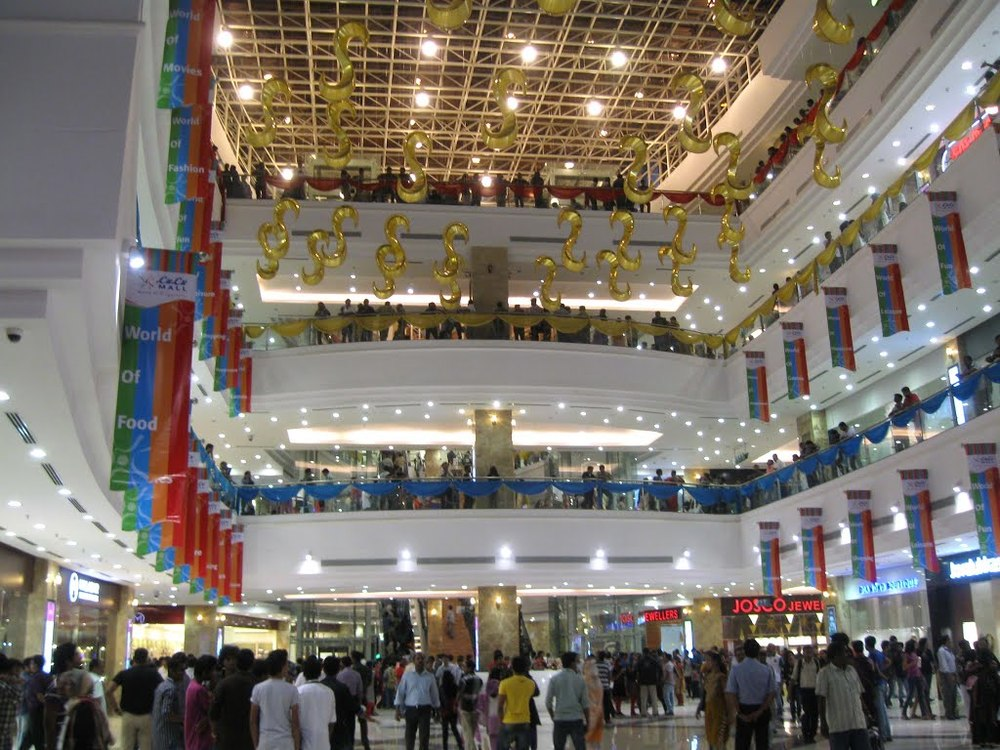 Lulu International shopping mall in Kochi.