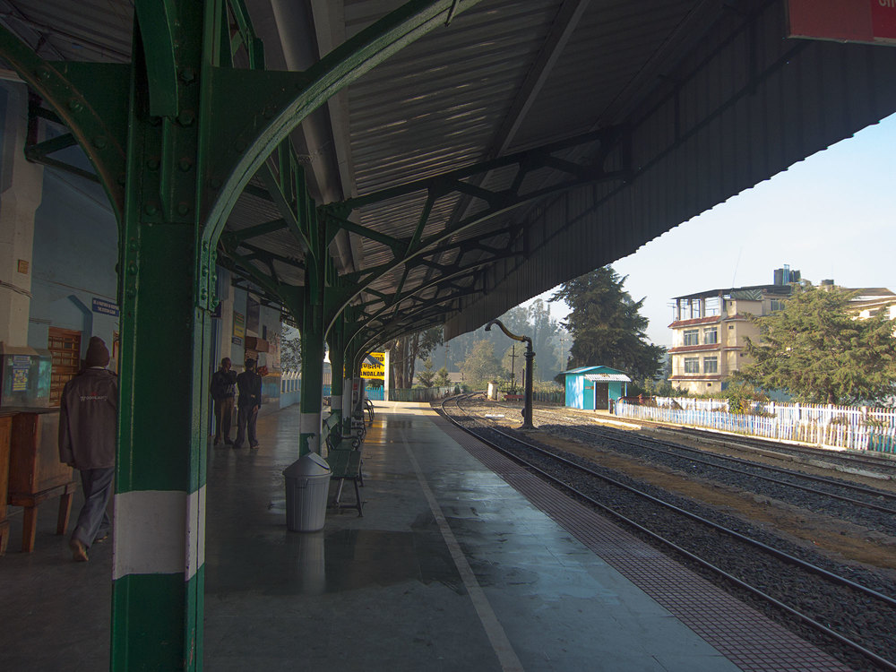 Another view of the Ooty station.