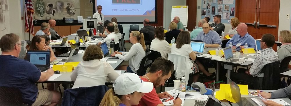 EQUIPPING TEACHERS:  Providing accredited university-based professional development classes to Colorado teachers.