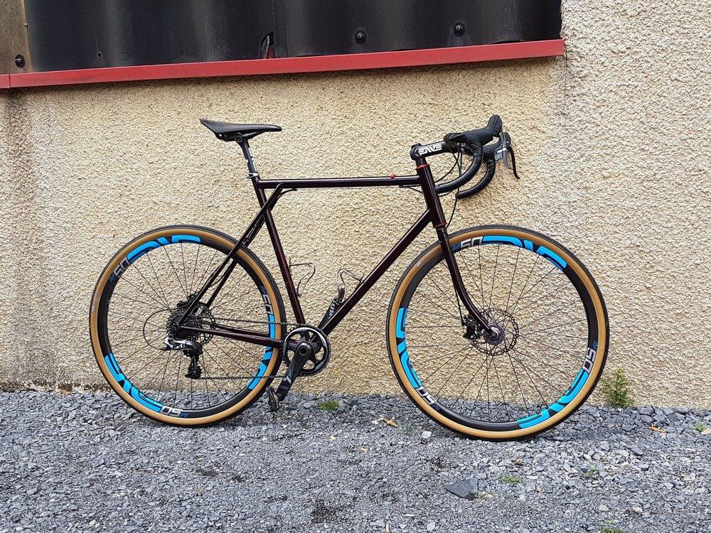 Vélo Gravel de Stefano made in Roubaix