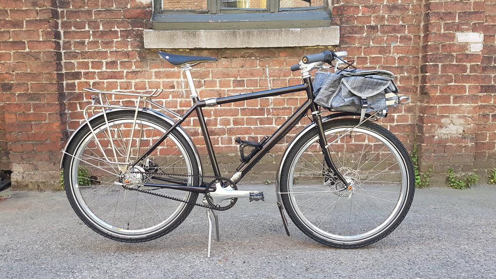Vélo de voyage de Hervé