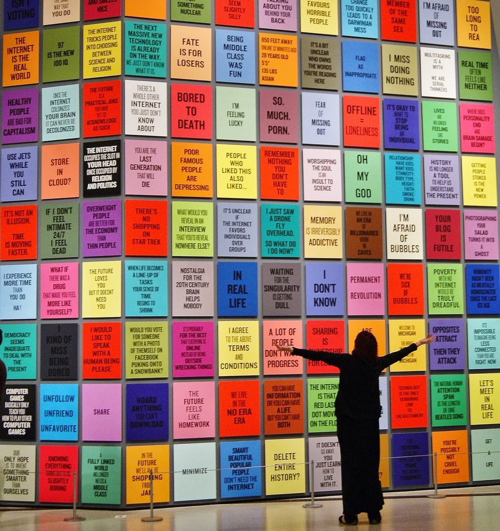 Collectif blanc_Douglas Coupland-Exhibition-ROM-Culture-Toronto-The Purple Scarf-Melanie.Ps (101).JPG