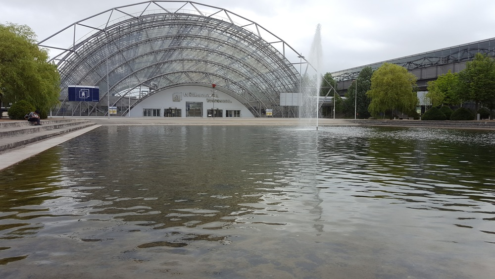 The venue: Leipzig-Messe